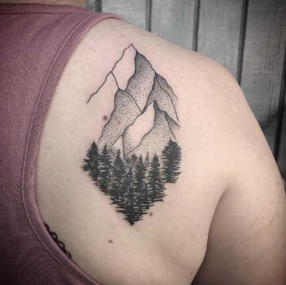 50 Meaningful Tree Tattoos Designs for Nature Lovers () of 32 by Patrick