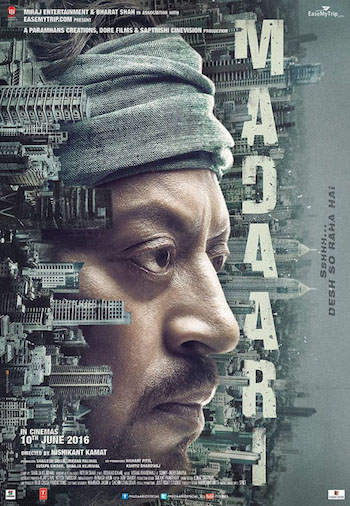 Madaari 2016 Hindi 720p HDRip 900mb