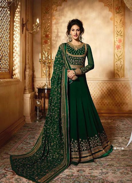Amyra Glossy Simar Salwar Kameez and Gown Wedding Collection