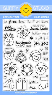Sunny Studio Stamps: Introducing Christmas Icons Stamp Set