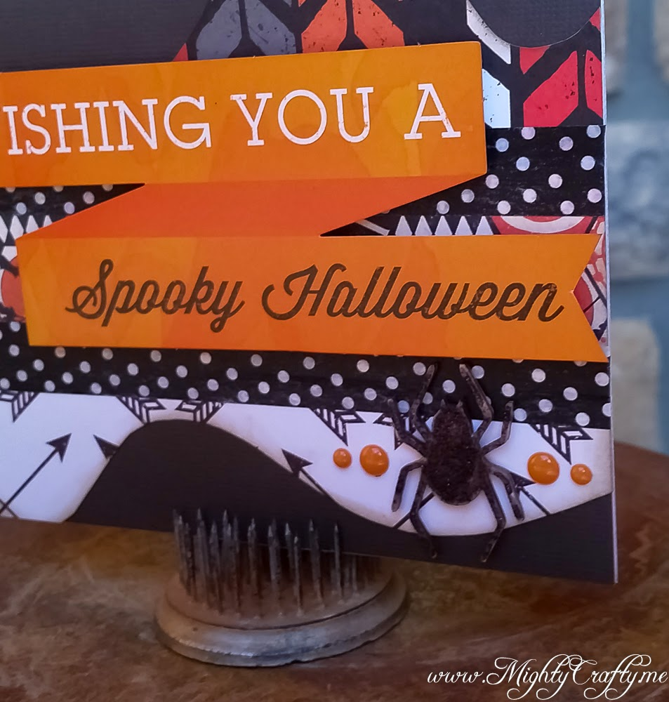 Halloween card -- www.MightyCrafty.me