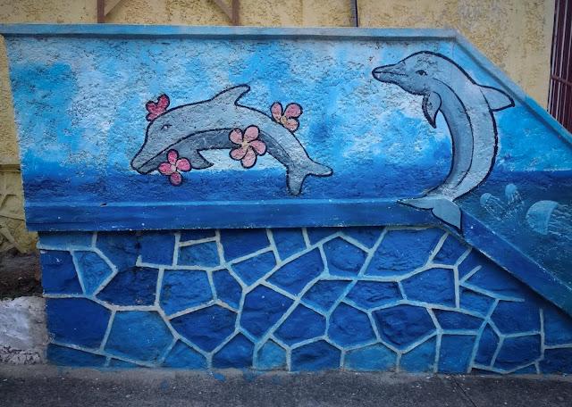 Graffiti pe Insula Taboga, Panama
