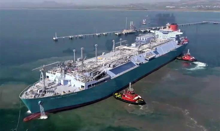 Το μεγαλύτερο LNG FSRU στον κόσμο λειτουργεί στην Τουρκία. Στην Αλεξανδρούπολη πότε;