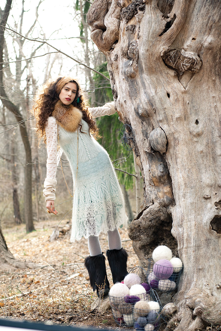 23 Java Design Patterns Laura Zukaite Vogue Knitting Editorial For Magic Of