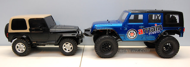 Axial SCX10 II vs Tamiya Jeep Wrangler