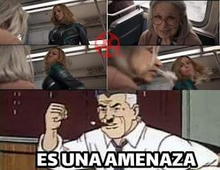 Memes de Capitana Marvel