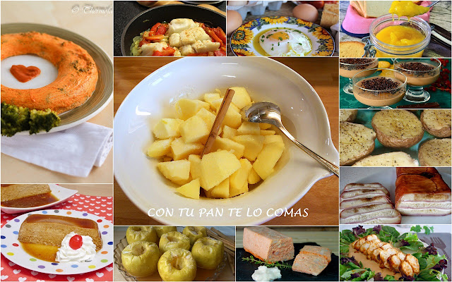 Platos dulces y salados hechos al microondas. Julia y sus recetas