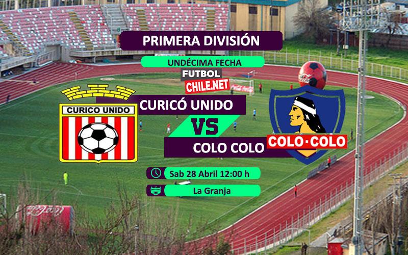 Previa, horario, dónde ver Curicó Unido vs Colo Colo en vivo por TV y online desde las 12:00 h por la Primera División