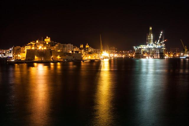 La Valletta di notte