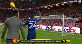 فيديو: مانشستر يونايتد يعود للتويج من جديد على حساب  أياكس أمستردام ويفوز باليوروبا ليج manu