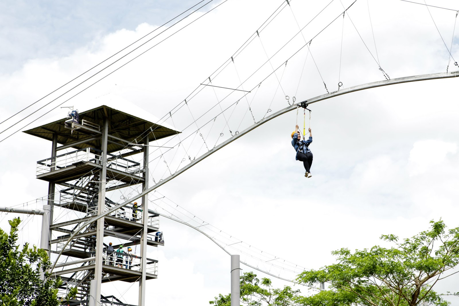 experience the longest zipline at camp n nuvali