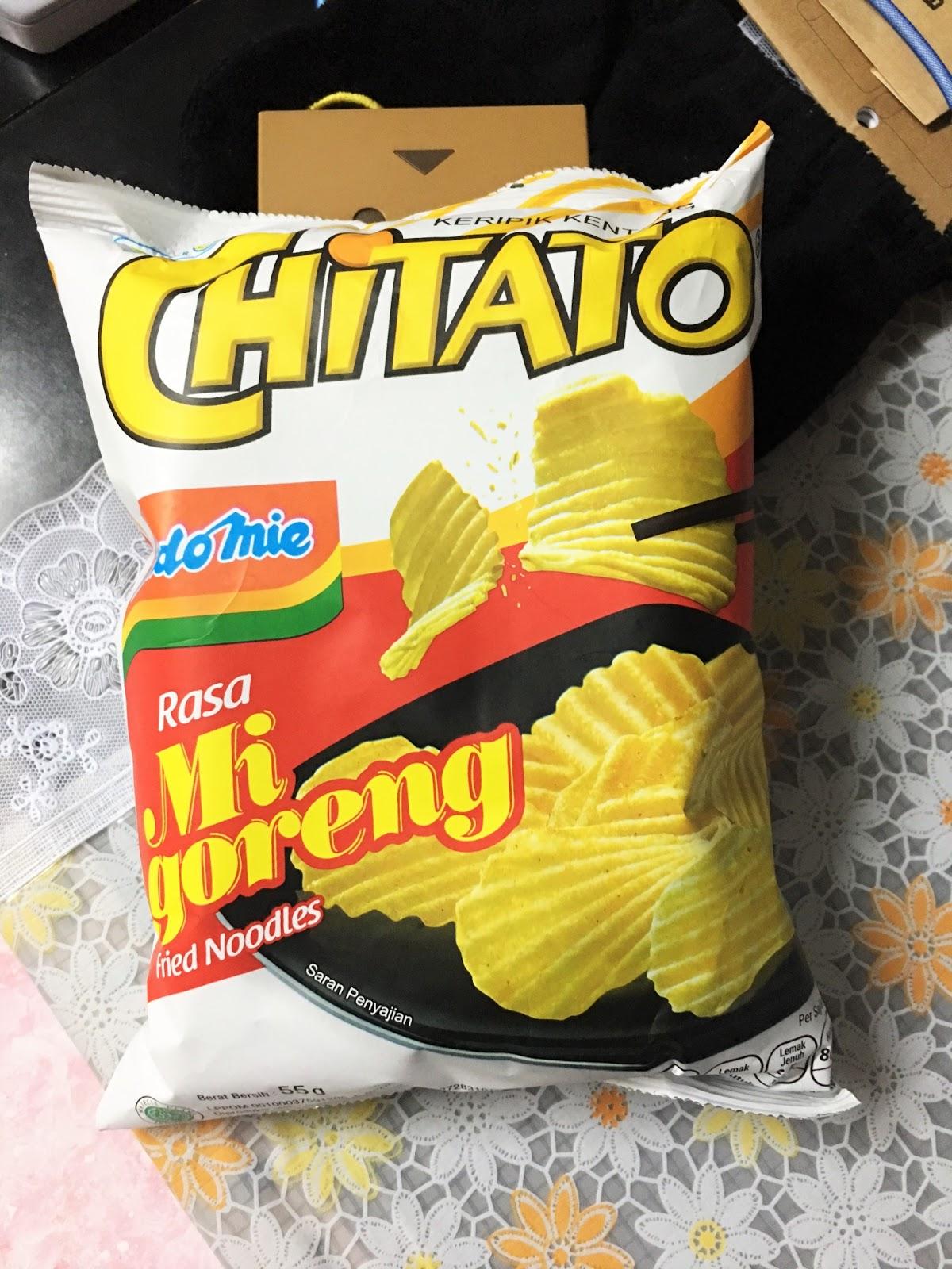 味之素: CHITATO營多撈麵薯片