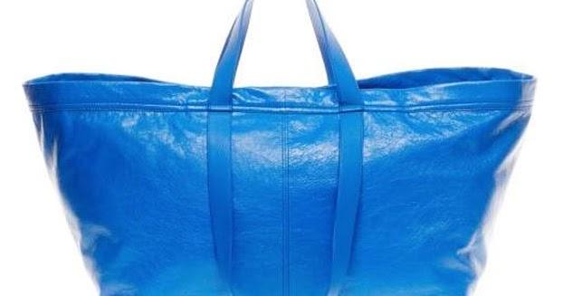 Mi blog by amo shopping bag de lujo luxury shopping bag - Bolsas almacenaje ikea ...