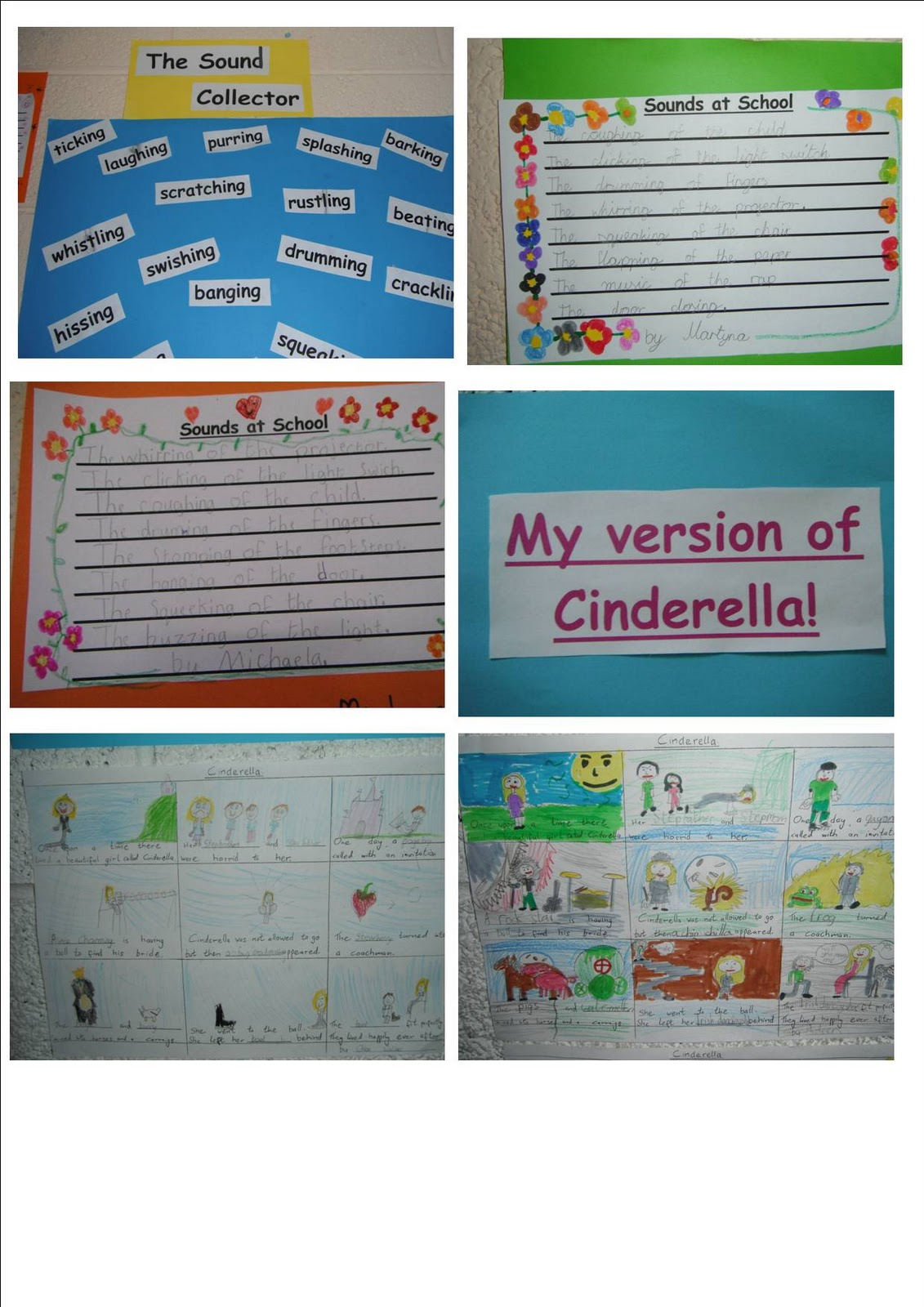 Literacy Site Sound Poems And Fairy Tales In Second Class