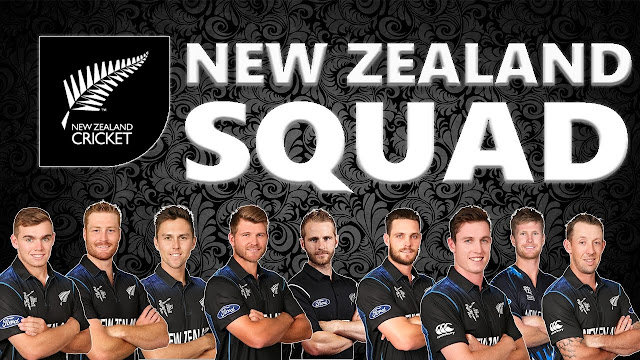 WC 2019 New Zealand Team Squad
