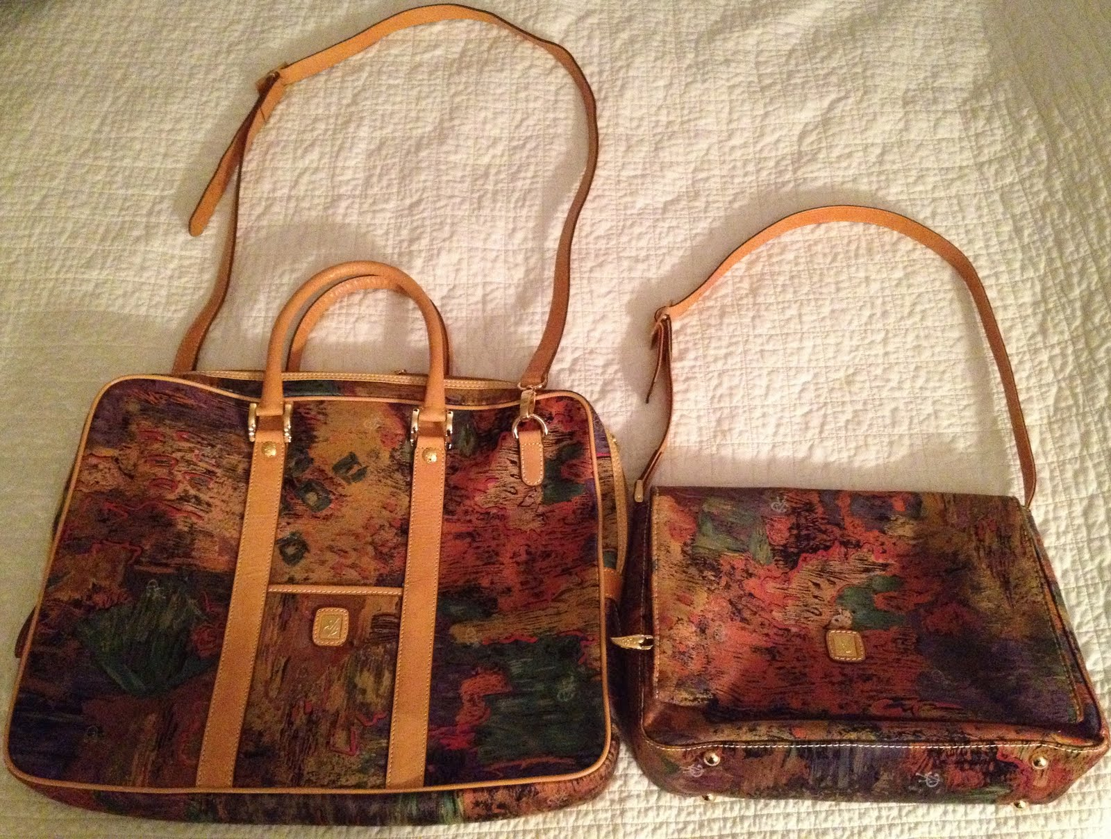 Ebay Pics Vincent Van Gogh Travel Handbag Set