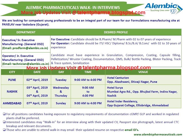 Alembic pharmaceuticals phone number