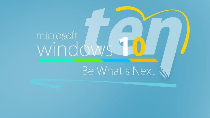 Wallpaper 2: Be Next, Be Windows 10