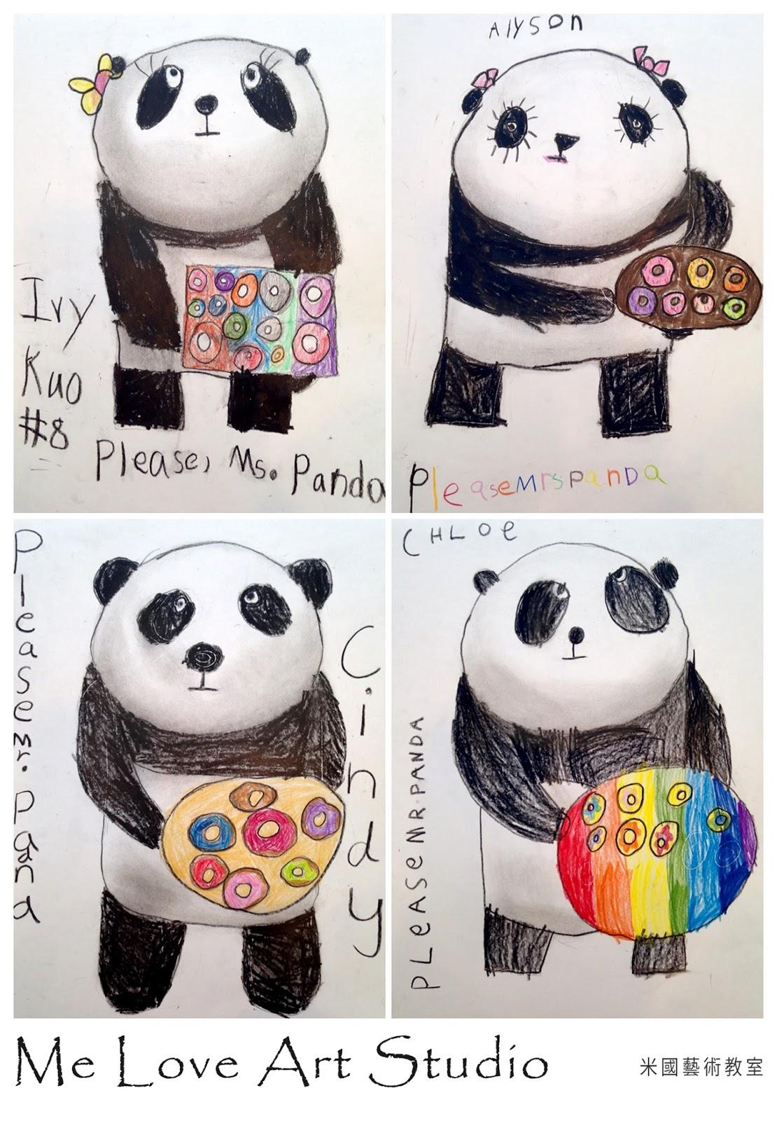 Me Love Art Studio Please Mr Panda Picture Book