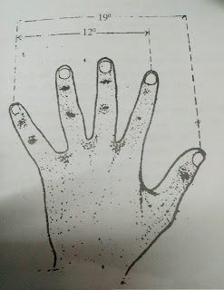 Indication of Target by finger