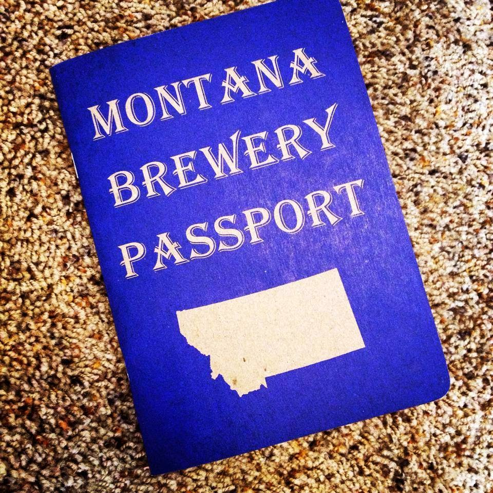 Montana Brewery Passport Book