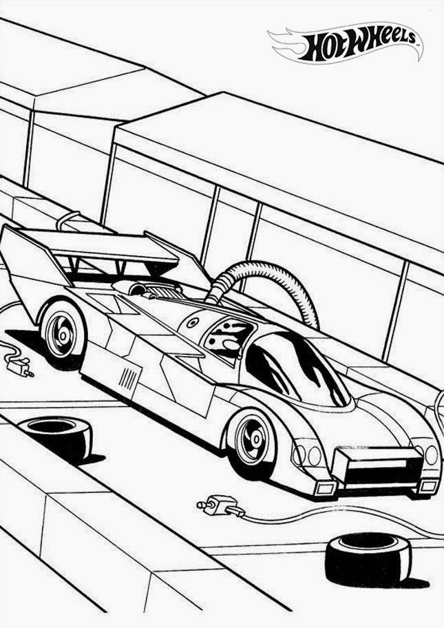 Hot Wheels Coloring Pages 31