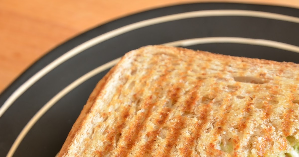 Une aiguille dans l 39 potage croque monsieur au guacamole et bacon grill - Sachet cuisson croque monsieur grille pain ...