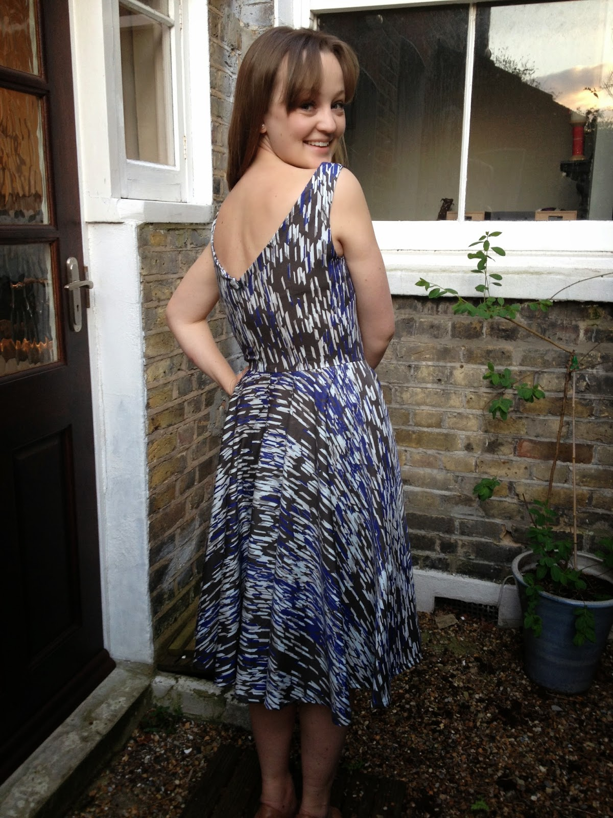 Diary of a Chainstitcher: Pattern Testing the Betty Dress Sewing Pattern from Sew Over It