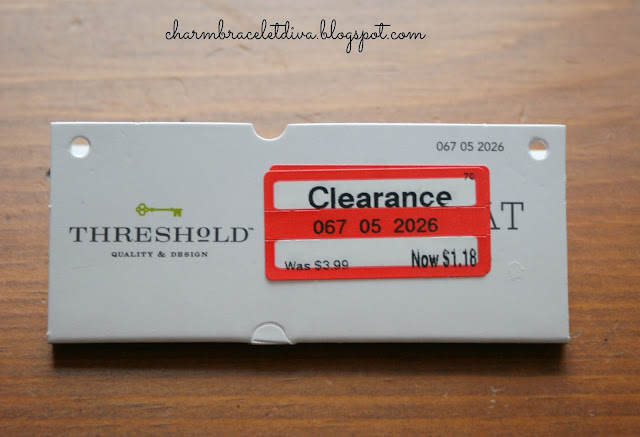 Target clearance price tag