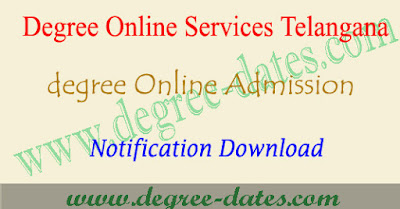 TS Dost MGU degree admissions 2018 online apply web options Telangana