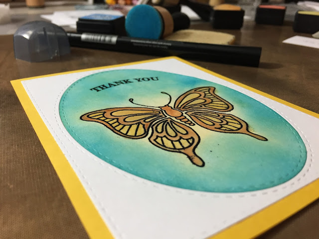 Inked Inspirations: Thank You Cards
