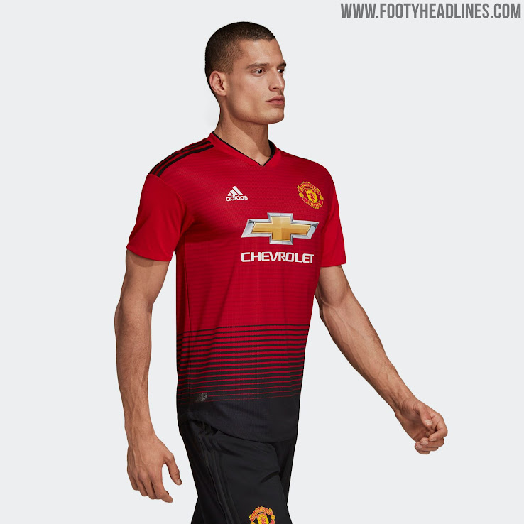 1b5816ce2 Manchester United 18-19 Home Kit Revealed - Footy Headlines
