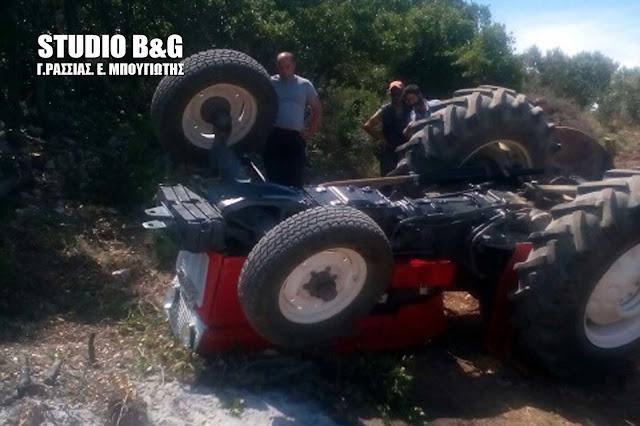 Νεκρός αγρότης στην Αχλαδόκαμπο από ανατροπή τρακτέρ