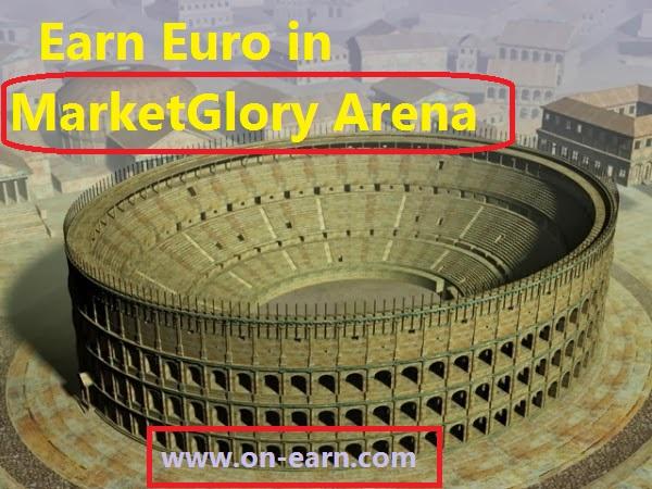 بالفيديو اكسب باليورو في الحلبة أو الأرينا في لعبة ماركت جلوري  Earn Euro in MarketGlory Arena
