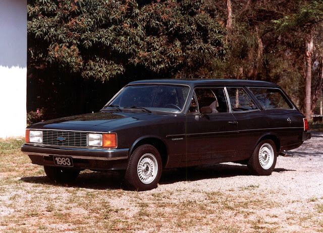 Chevrolet Opala Caravan 1983