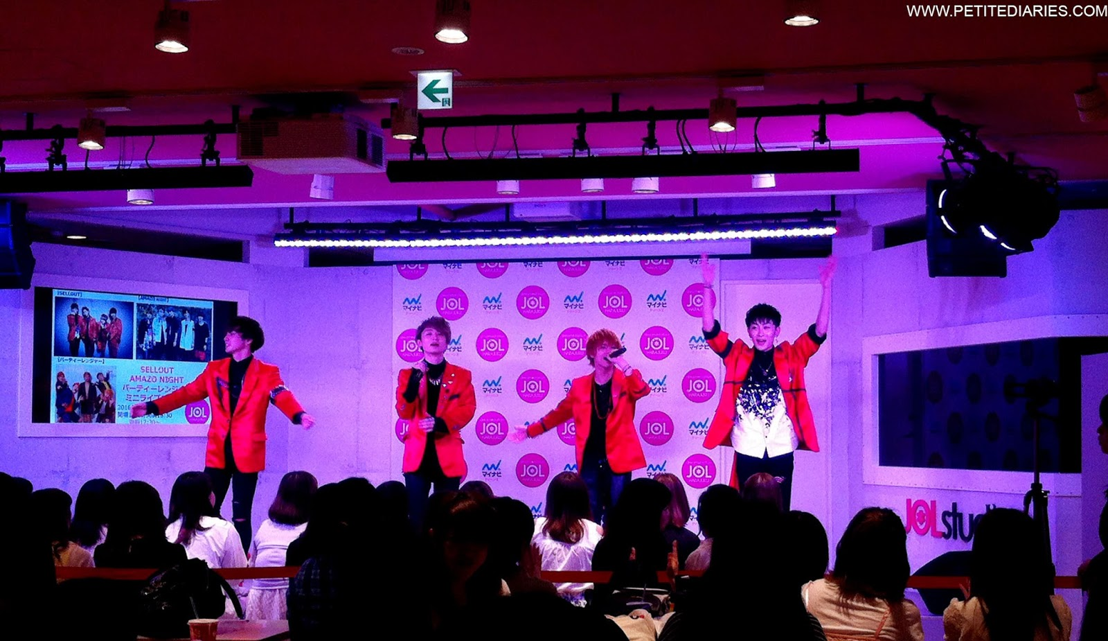 harajuku concert japanese boyband
