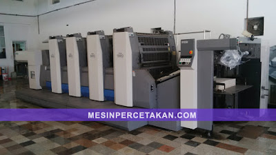 Ryobi 920 4 color printing machine