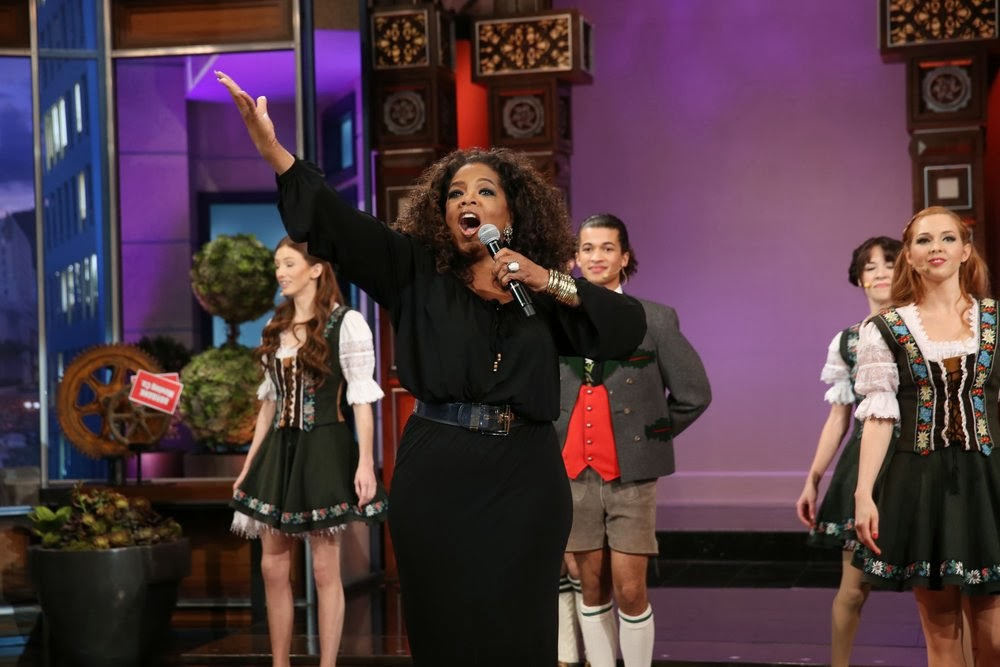 Oprah Sings Goodbye To Jay Lenos Final Tonight Show