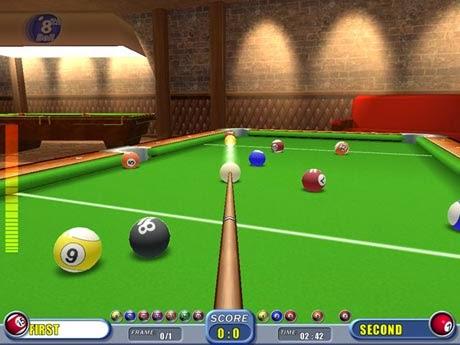 غلاف لعبة بلياردو pool للكمبيوتر