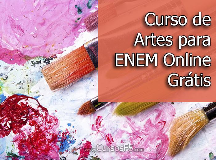 Curso de Artes para ENEM Online Grátis