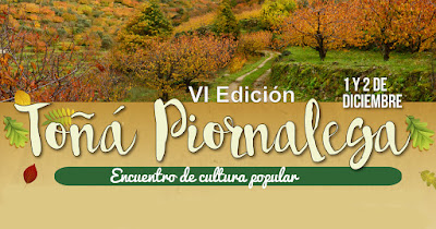 VI Toñá Piornalega. Encuentro de cultura popular. 1 y 2 de diciembre en Piornal