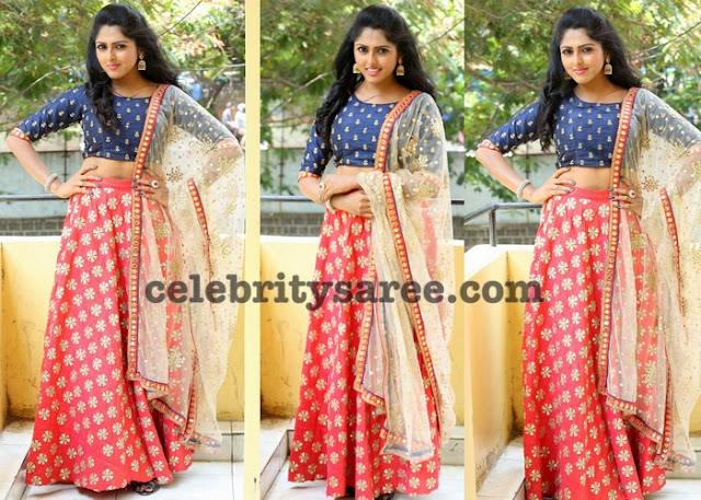 Charishma Shrekar Crop Top