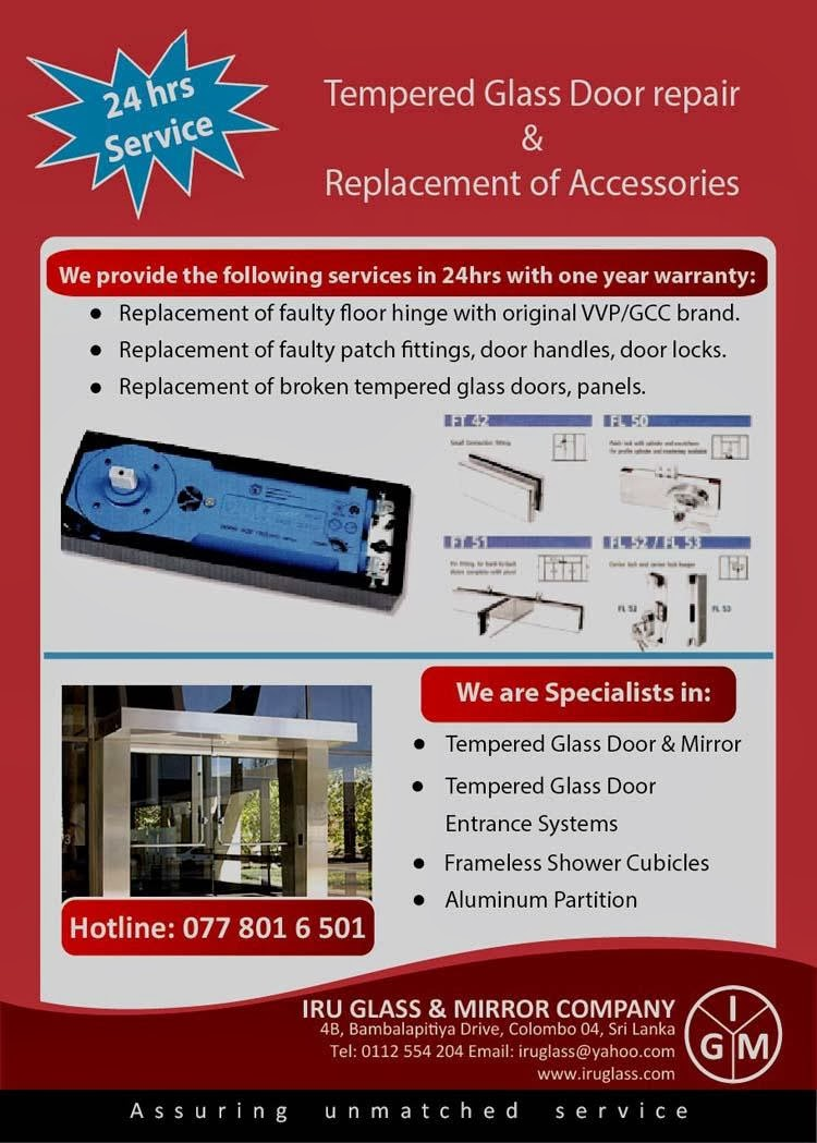 Tempered Glass Door Repair And Aluminum Partition