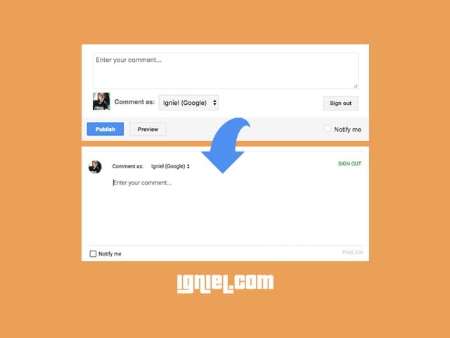 Cara Memasang Widget Kotak Komentar Contempo Terbaru di Blogger