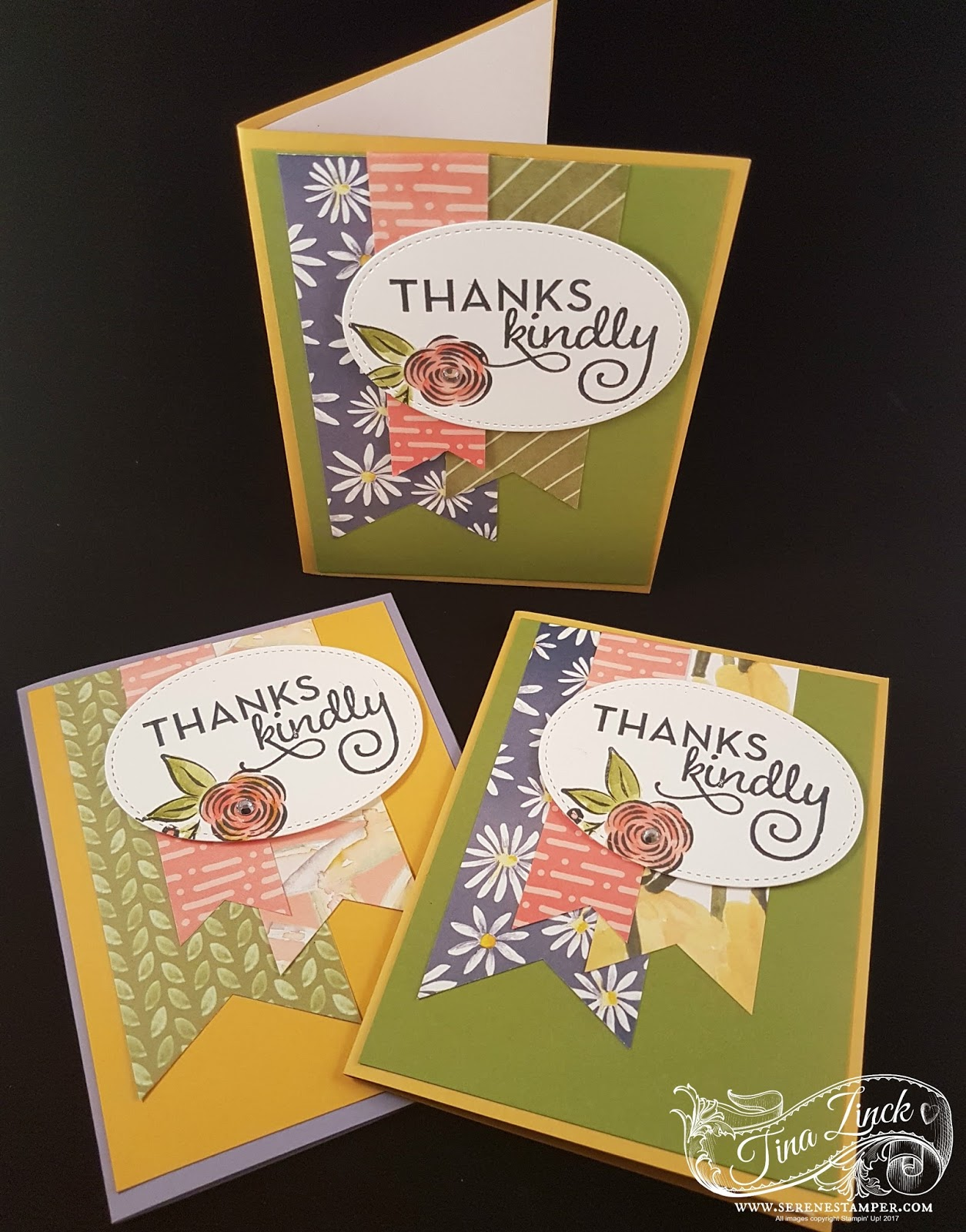 The Serene Stamper Perennial Birthday And One Big Meaning Quick Card