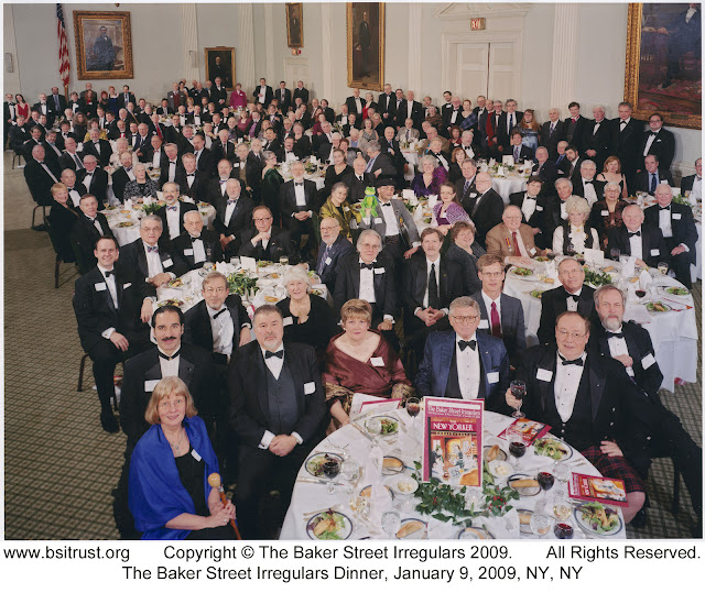 The 2009 BSI Dinner group photo
