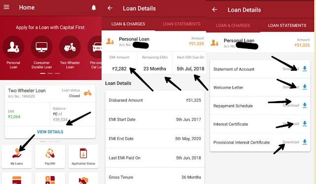 DFC First Bank Loan EMI Status Kaise Dekhe,idfc first bank loan statement kaise nikale,idfc personal loan status check,idfc loan status with mobile number