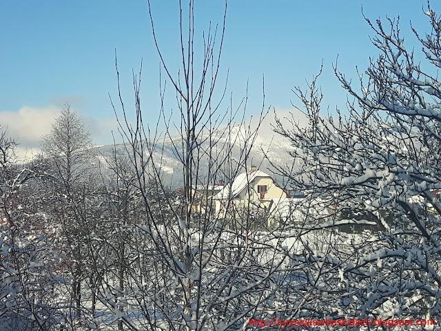 Miłośnicy Gór i Podroży Zapraszają Na Zwiedzanie - Skrzyczne zimową porą posrebrzone szyty
