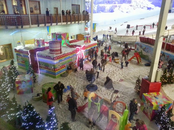 The Snow Play Mini Moose Land at Chill Factore Christmas 2014