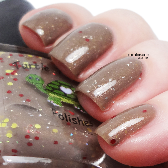 xoxoJen's swatch of Turtle Tootsie Give Thanks